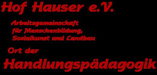 Hof Hauser e.V.